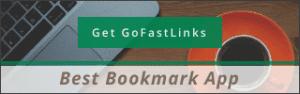 Best Bookmark App GoFastLinks